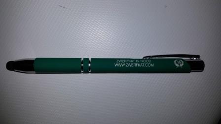 schrijfpen vzw met extra touchknopje