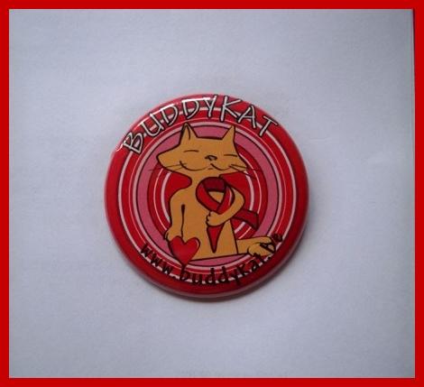 Button van Buddy Kat
