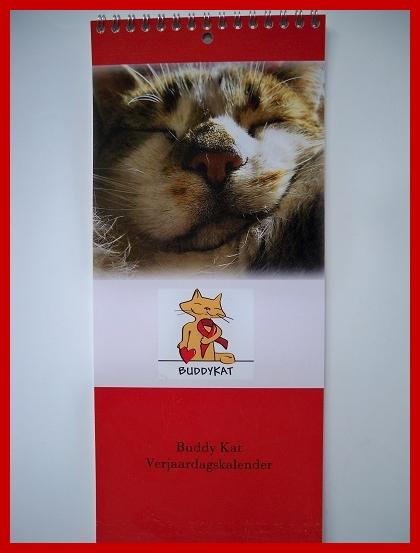 Verjaardagskalender Buddykat