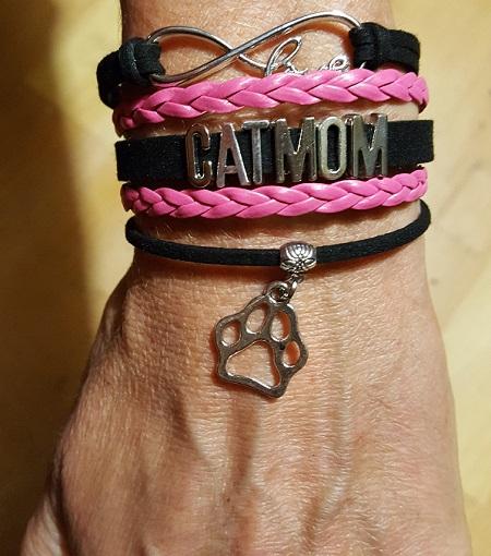 Catmom armband