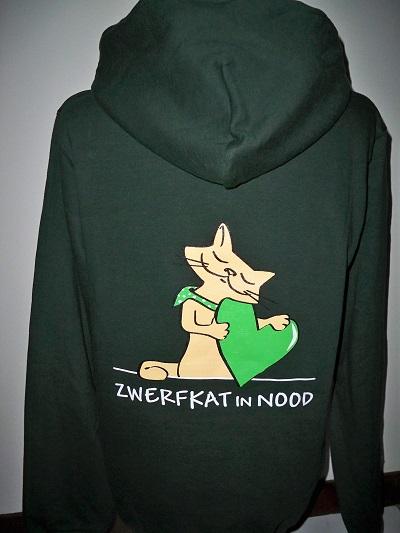 Hoodie Zwerfkat in Nood