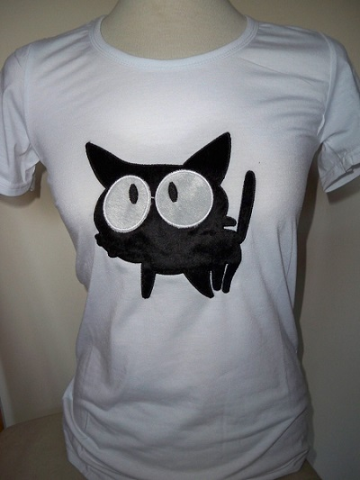 T-Shirt met kattendesign