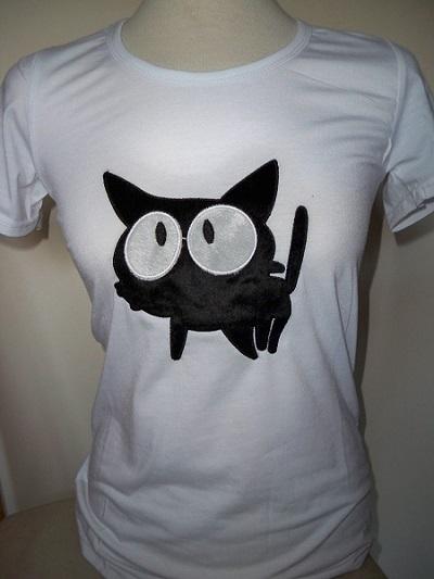 T-Shirt met kattendesign