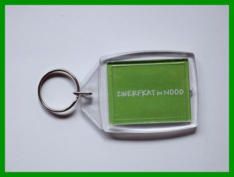 Sleutelhanger met logo Zwerfkat